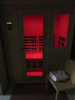 Far infra red sauna