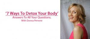 7 ways Detox
